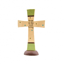 """Trust in the Lord"" Cross"