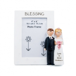 Bride and Groom Photo Frame