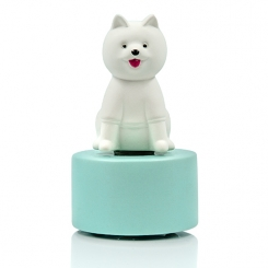 Moshi Smiley Dog Ceramic Diffuser Gift Set + 60 ml Fragrance (+ Wooden Coaster - Optional)