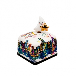Hong Kong Special Edition Series Ceramic Music Box (Symphony of Lights)