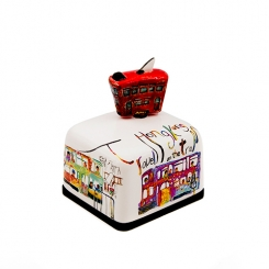 Hong Kong Special Edition Series Ceramic Music Box (Tram)