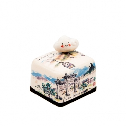 Hong Kong Special Edition Series Ceramic Music Box (Lantau Island)