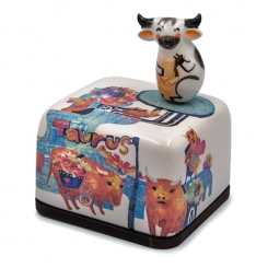 Moonyart - Horoscope Series Ceramic Music Box (Taurus)