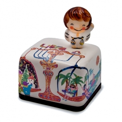 Moonyart - Horoscope Series Ceramic Music Box (Libra)