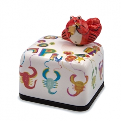 Moonyart - Horoscope Series Ceramic Music Box (Scorpio)