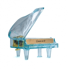 Piano Music Box (Blue)