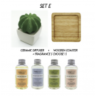 SET E - Ceramic Diffuser (Personalization - optional)